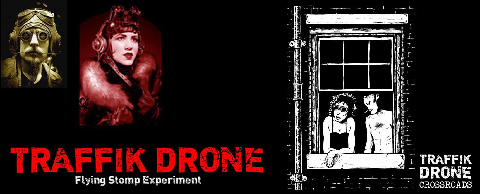 BC-354-Album - Traffik Drone : Crossroad - Radio Galaxie 98.5FM