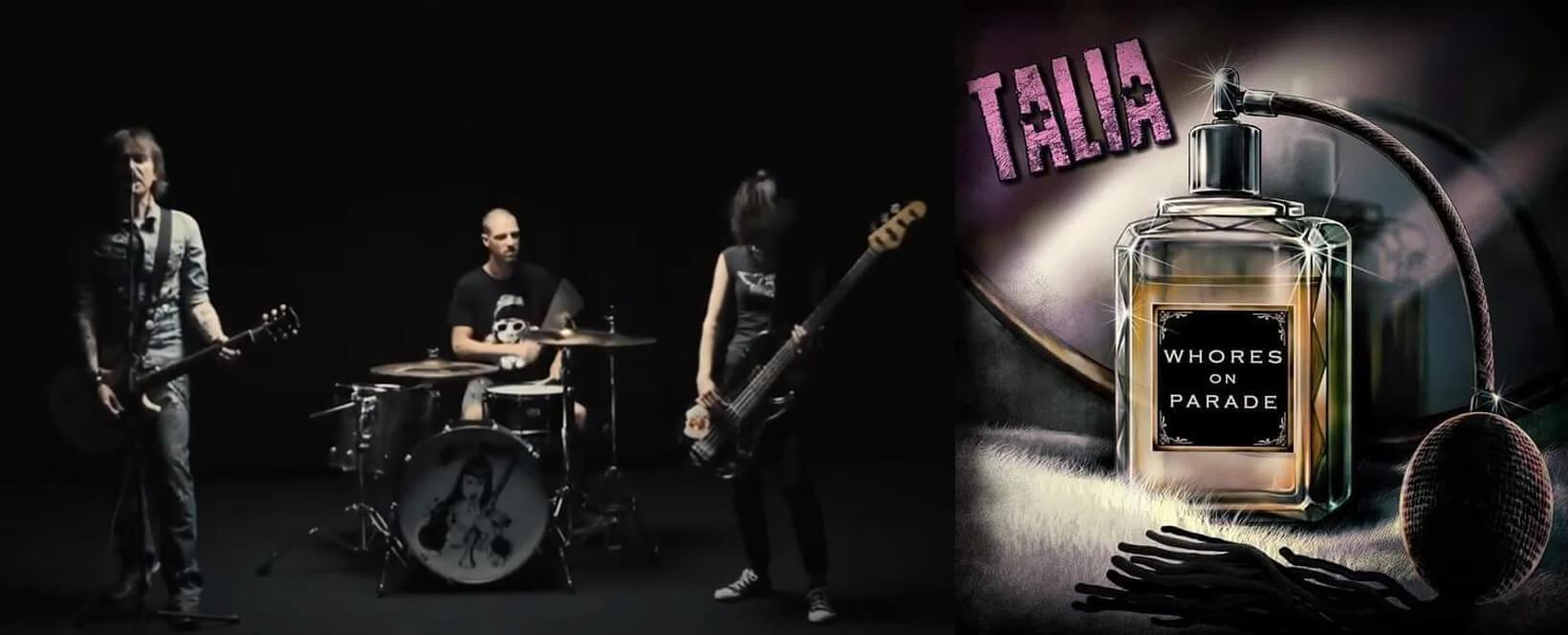 BC-358-Album - TALiA (the band) Mob : Whores on Parade - Radio Galaxie 98.5FM