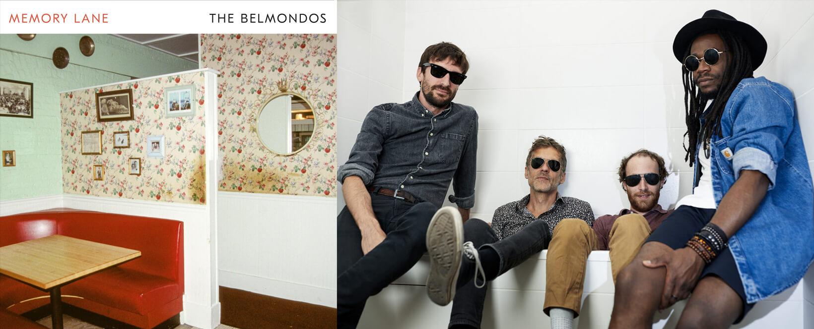 BC-356-Album - Belmondos : Memory lane - Radio Galaxie 98.5FM