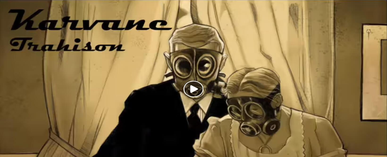 BC-357-Album - Karavane : Trahison - Radio Galaxie 98.5FM
