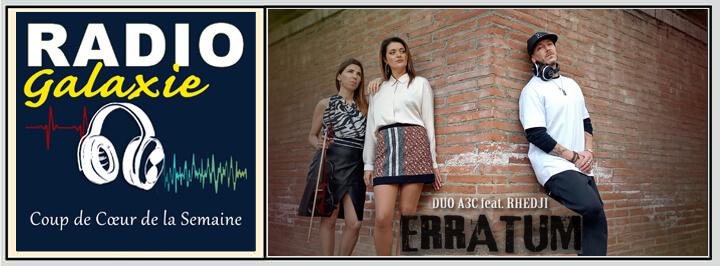 A3C - Rhedji- Radio Galaxie 98.5FM