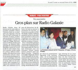 Gros plan sur Radio Galaxie
