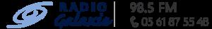Radio Galaxie 98.5 FM - Logo Home