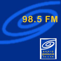 Radio Galaxie 98.5 FM - Player Logo