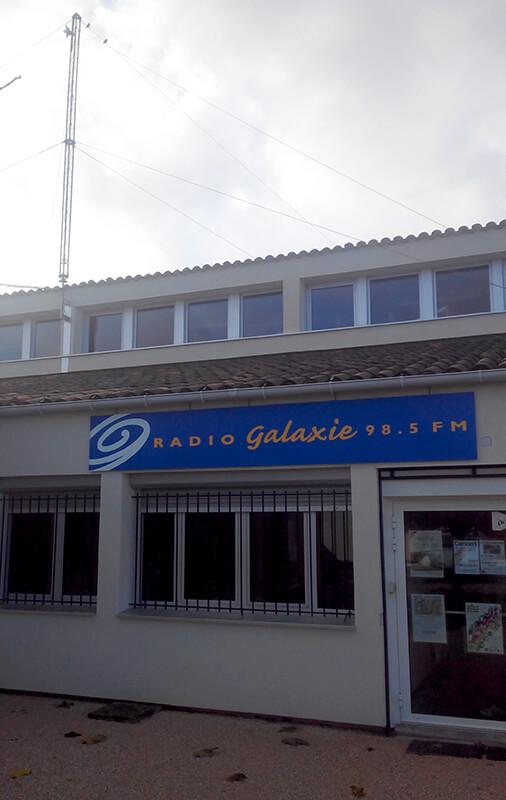 Radio Galaxie 98.5 FM - La station de Rieux-Volvestre