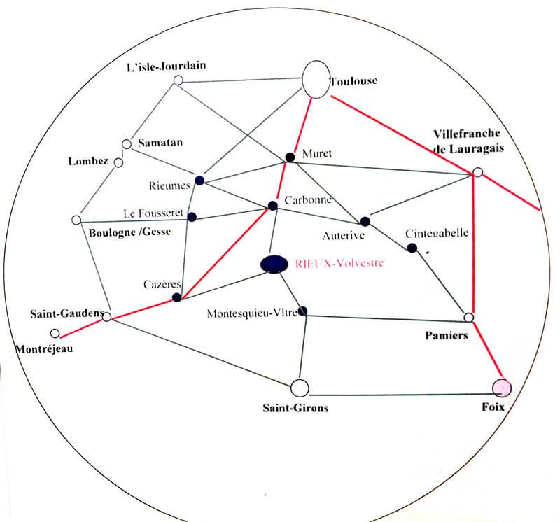 Radio Galaxie 98.5 FM - Zone de Couverture