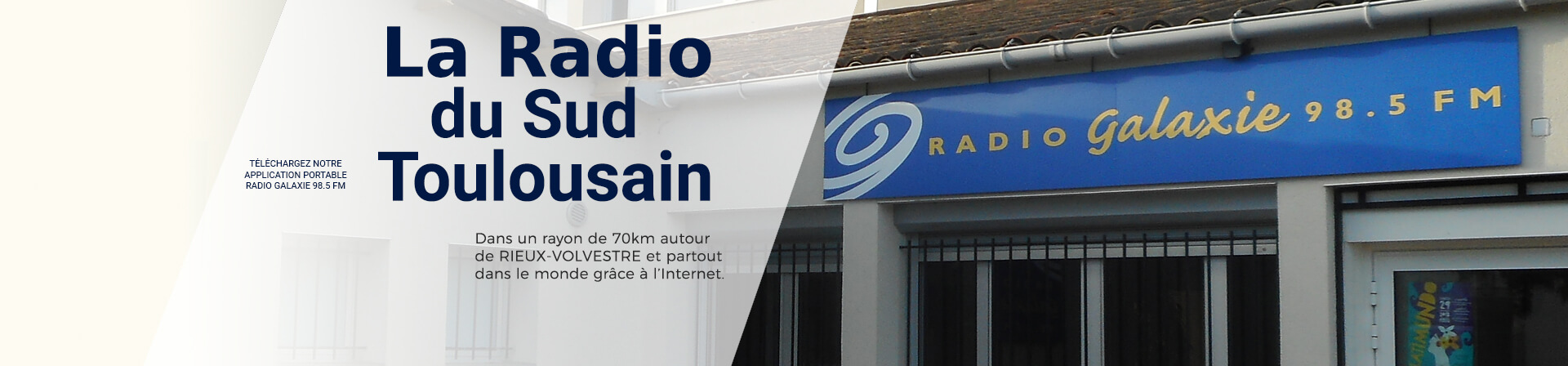 Radio Galaxie 98.5 FM - Home Slider 2