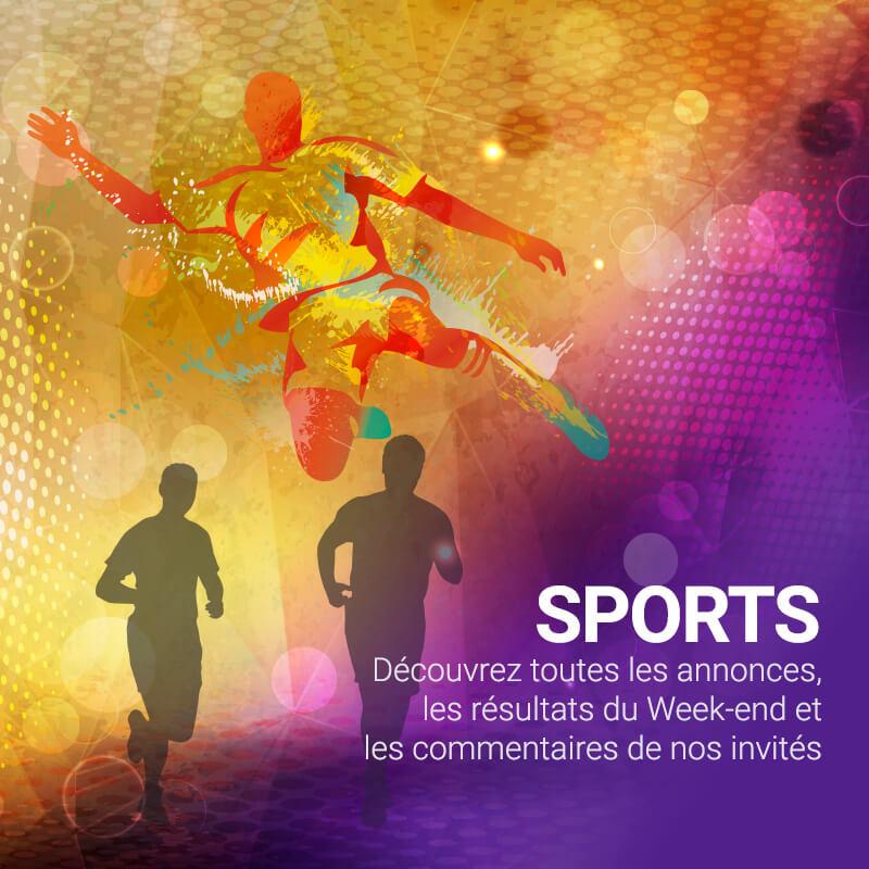 Radio Galaxie 98.5 FM - Sports : Actualités, Agenda, Résultats