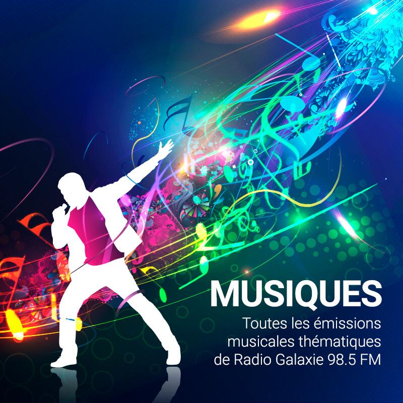 Radio Galaxie 98.5 FM - Les émissions musicales
